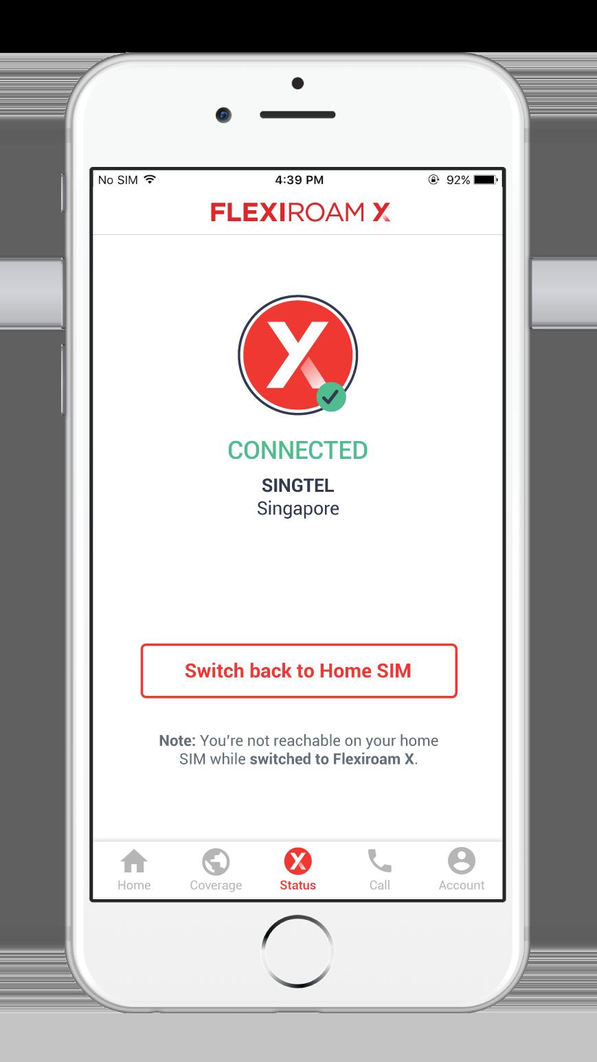 Flexiroam X - Connected Screen