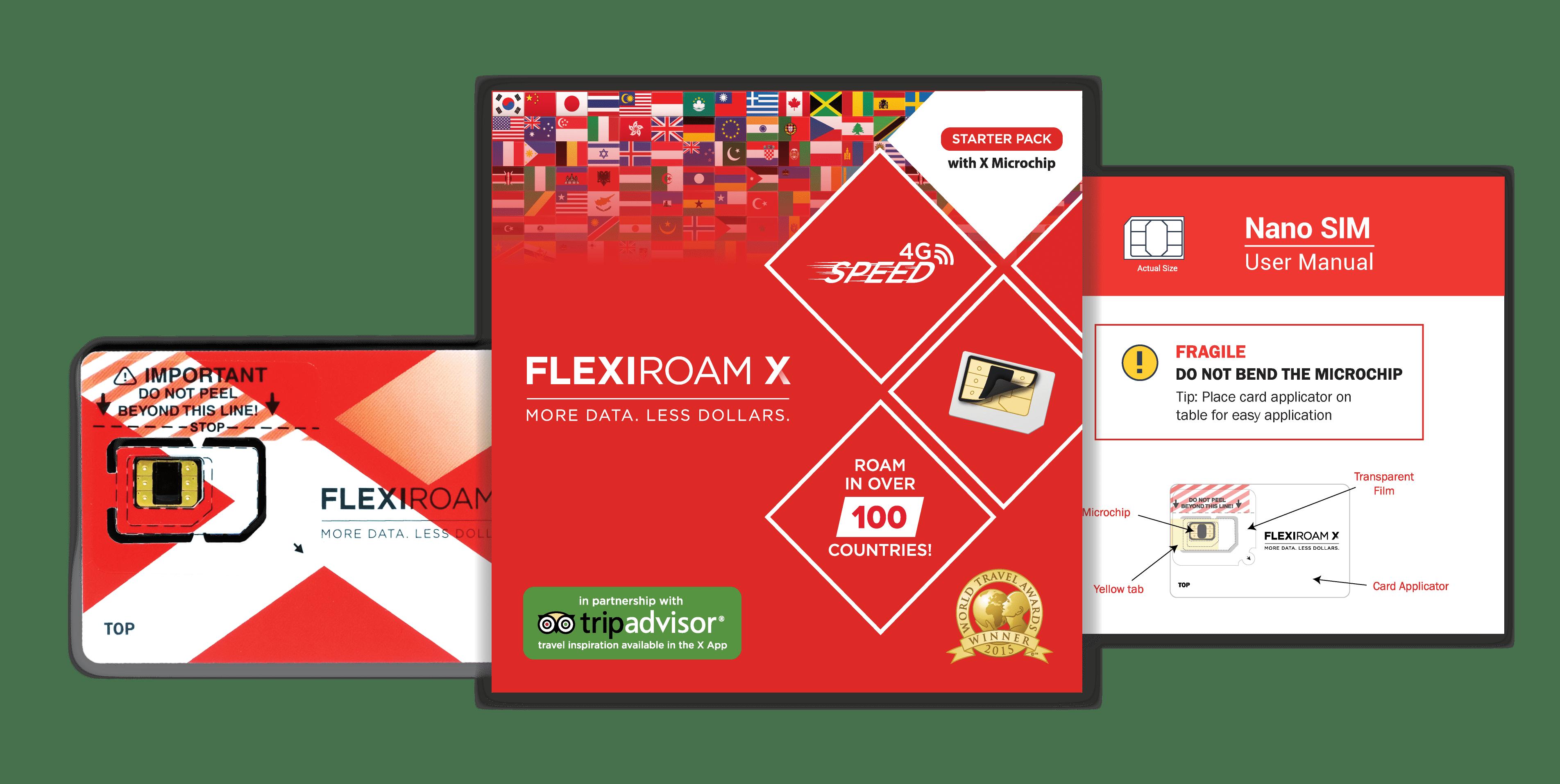Flexiroam X Package