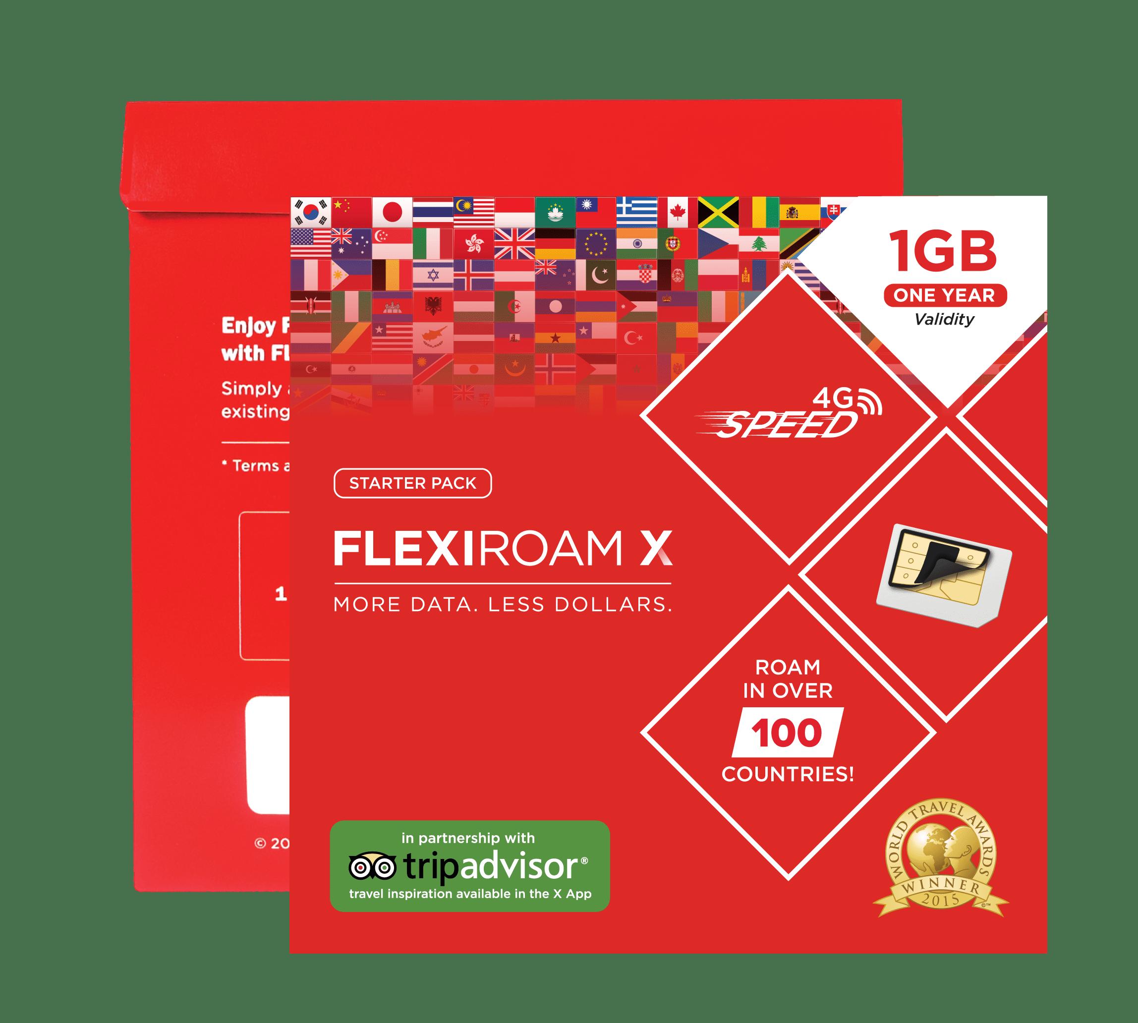 Flexiroam X - Starter Pack