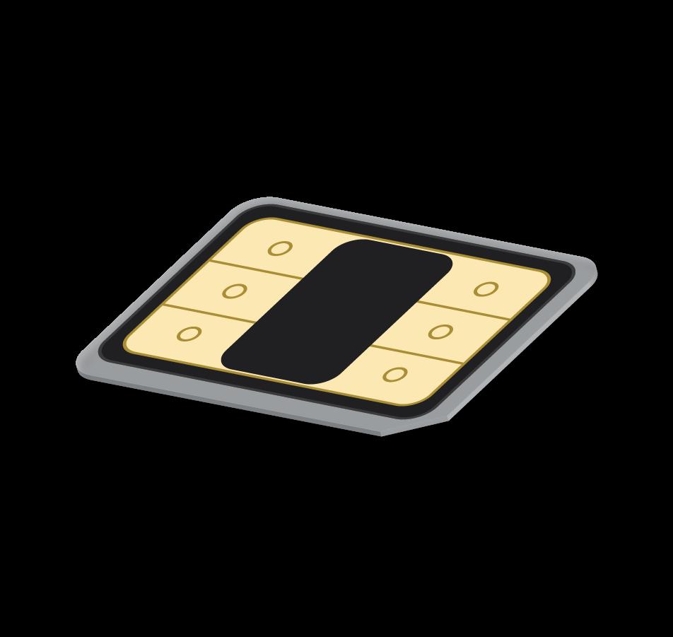 Flexiroam X - Sim Card with Flexiroam X Microchip