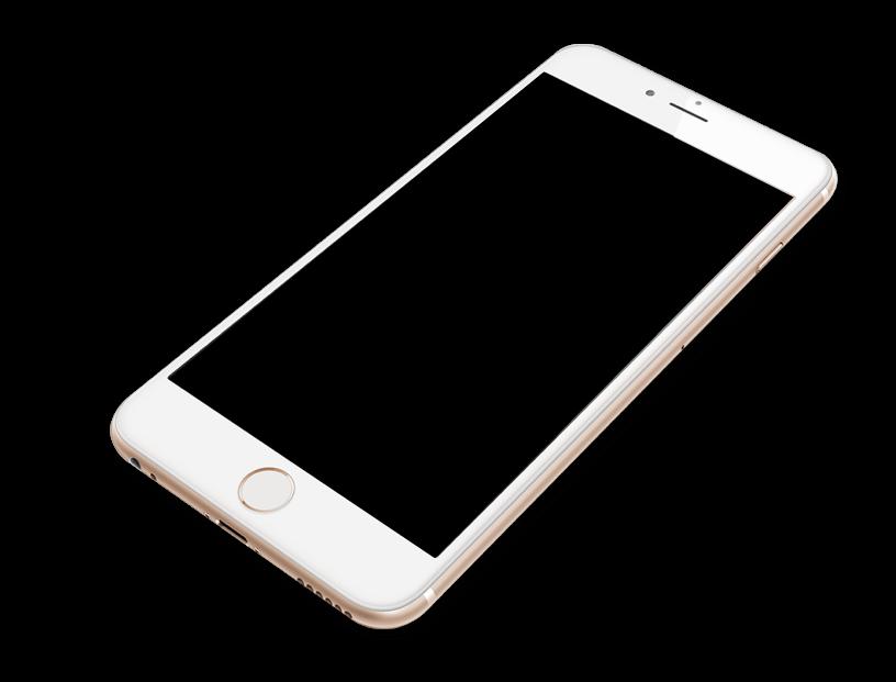 iOS Phone with Black Screen